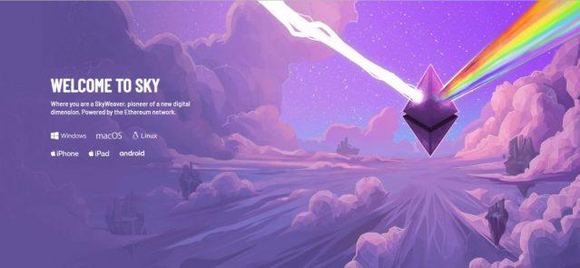 SkyWeaver - Horizon card game based on Ethereum