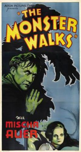 The-Monster-Walks-Poster