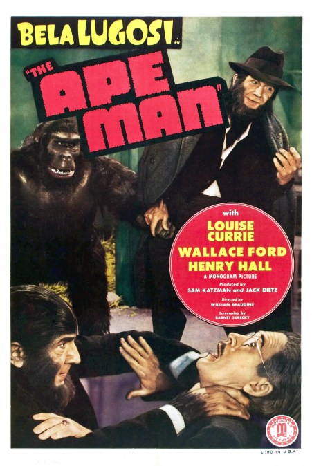 The-Ape-Man-Poster