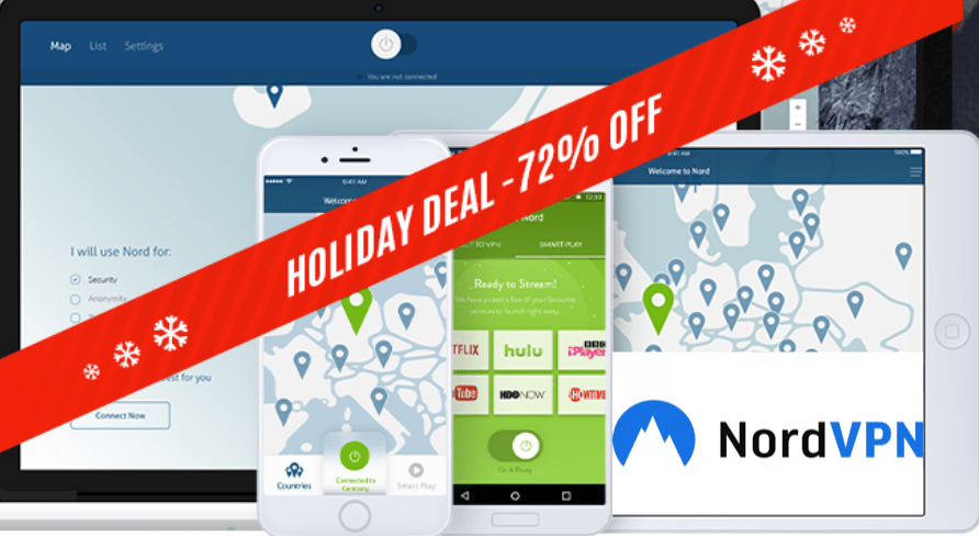 NordVPN Winter Holiday Deal 2017