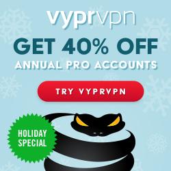 VyprVPN Christmas Deal 2016