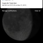 Crypto-ML Mobile App Android