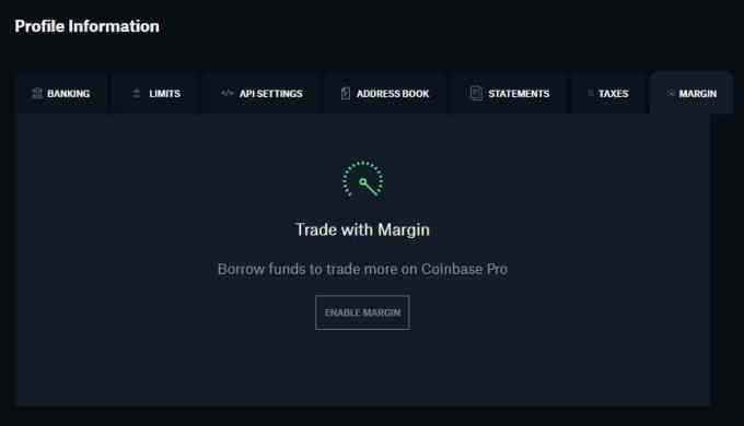 Coinbase Pro Relaunches Margin Trading 1