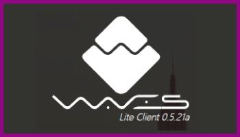 分散型取引所DEX┃Waves Lite Client