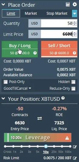 take-profit-bitmex