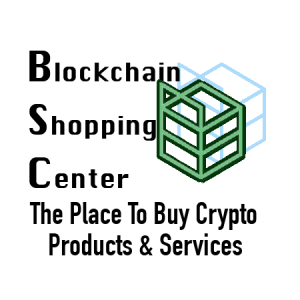 Buy Crypto Products on Blockchain Shopping Center