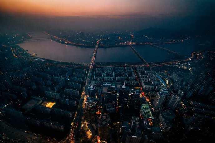 Seoul nighttime