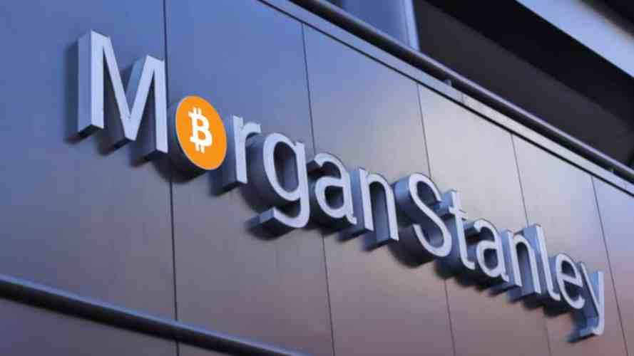 مورغان ستانلي يقدم استثمار بيتكوين لعملائه المليونيرات