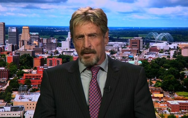 John McAfee Pump and Dump