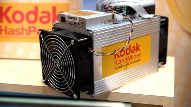 Bitcoin Mining with Kodak