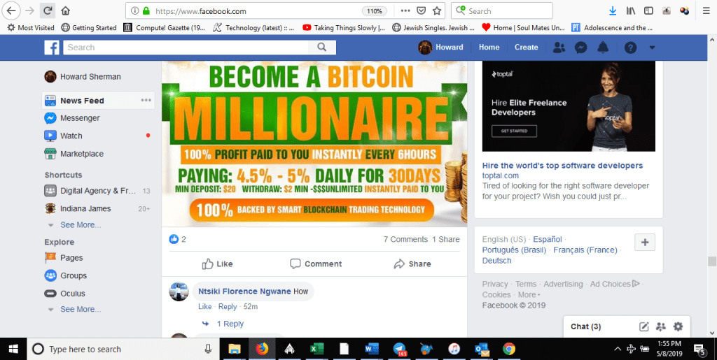 bicoin scams are back