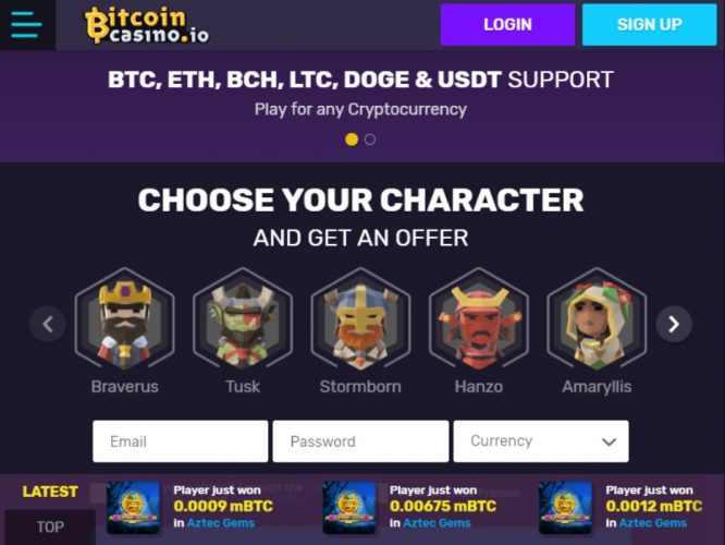 What's the best bitcoin slots to play at the bitcoin casino