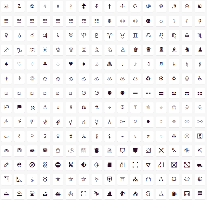 Appsheet: Expand the Icon Set to Use all Unicode Characters