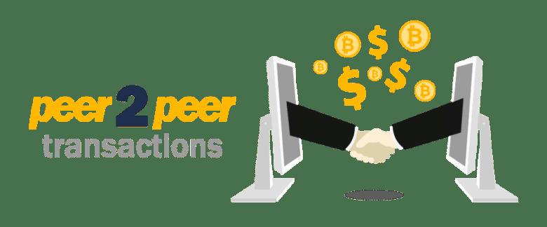 Kết quả hình ảnh cho peer to peer transaction