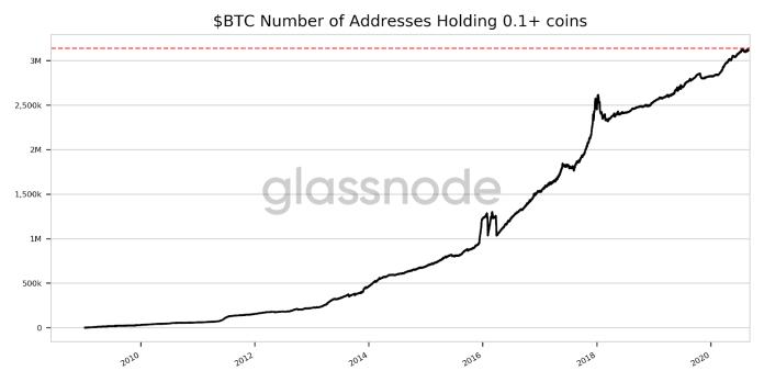 "Bitcoin ""plankton"" holdings"