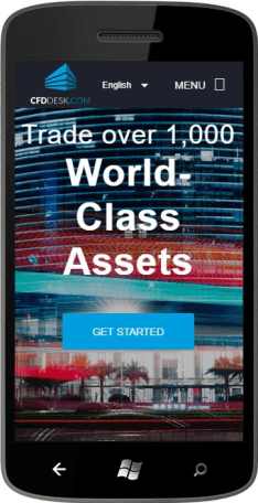 Mobile Trading with CFDDESK