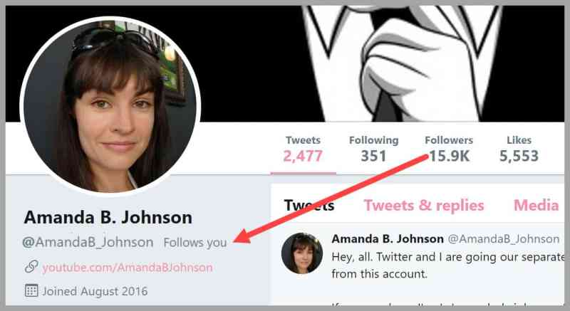 Amanda Johnson Follows Tai Zen