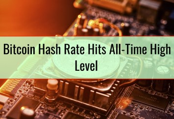 Bitcoin Hash Rate Hits All-Time High Level