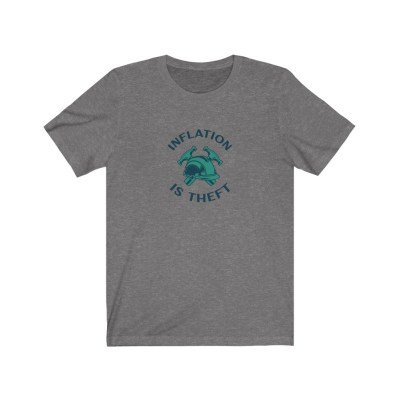 Inflation is Theft Jersey Short Sleeve Tee