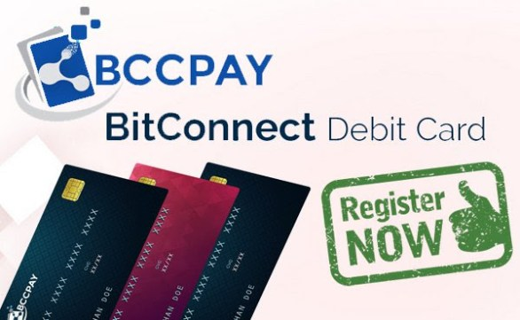 Bitconnect Debit Card