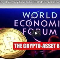 World Economic Forum Cryptocurrency Bubble