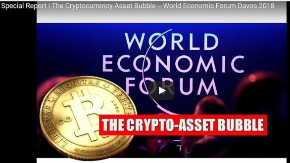 World Economic Forum Cryptocurrency Bubble