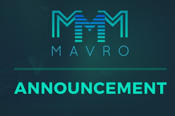 Mavro Coin news