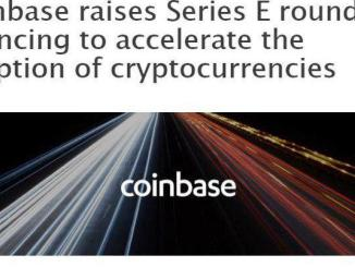 Coinbase Has Raised $300M In The Series E Equity Round