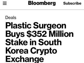 Plastic Surgeon Buys South Korea Crypto Exchange Stake