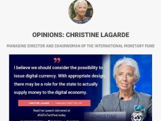 IMF Managing Director Singapore Fintech Festival Said About Digital Currency