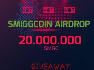 Register SmiggCoin Airdrop To Get 2K SMGC Coins Free Worth $18