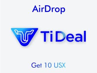 Register Tideal Exchange Get USX Tokens Free
