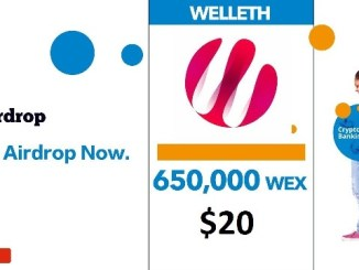 Welleth Crypto Airdrop Tutorial - Earn 650K WEX Tokens - Worth 0.1 ETH