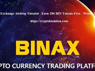 Binax Exchange Airdrop Tutorial - Earn 280 BIN Tokens Free - Worth The $56