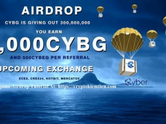 Cybergame Crypto Airdrop Tutorial - Earn 1,000 CYBG Tokens Free - Worth The $10