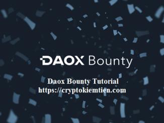 Daox Crypto Bounty Tutorial - Earn Up $5,000 In DXC Token