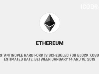 Ethereum Constantinople Hard Fork Is Scheduled For Block 7,080,000
