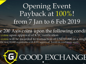 Good Exchange Airdrop Tutorial - Earn 100 AXIS Coins Free