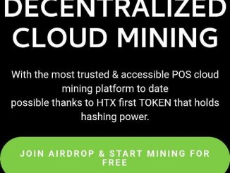 Free Coin - Hashtrust Crypto Airdrop Tutorial - Earn Daily HTX Tokens Free