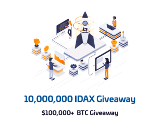 Interdax Exchange Launch Prizes - Earn Up To 10 Bitcoins And 1 Million IDAX Tokens