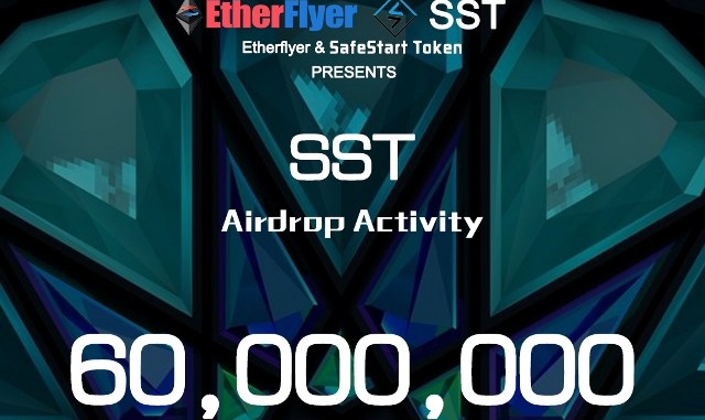 Etherflyer Exchange Airdrop SafeStart – Earn SST Tokens Free