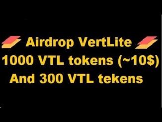 VertLite Exchange Airdrop Tutorial - Earn 1,000 VTL Tokens Free - Worth The $10