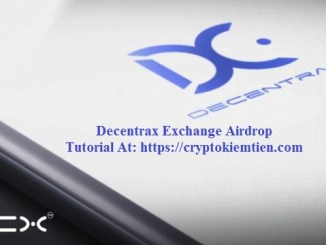 Decentrax Exchange Airdrop Tutorial - Earn DCX Token Free