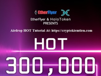 Etherflyer Exchange Airdrop HOT - Earn HOT Token Free