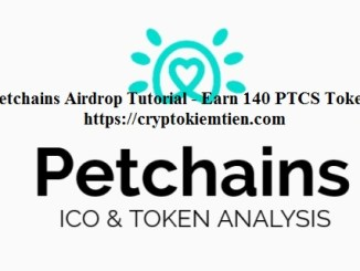 Petchains Crypto Airdrop Tutorial - Earn 140 PTCS Tokens