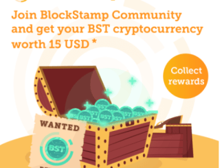 BlockStamp Community Giveaway - Get BST Token