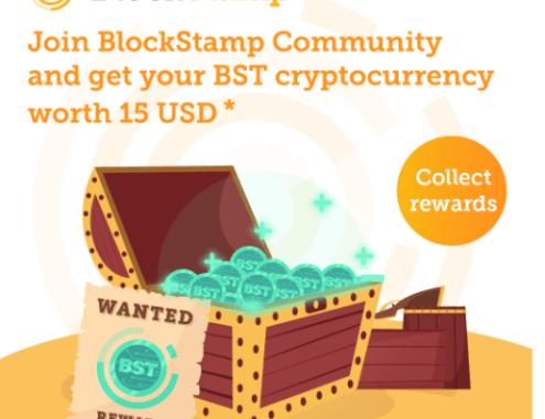 BlockStamp Community Giveaway - Get BST Token