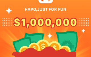 Hapo Daily Bonus Program – Earn Free Daily Bitcoin (BTC) – Total Bonus Is $1 Million