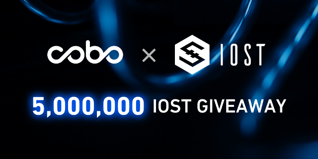 Cobo Wallet Giveaway 5 million IOST To Users - How To Get IOST From Cobo Wallet?