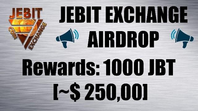 Jebit Exchange Airdrop Tutorial - Earn 1,000 JBT Coins Free